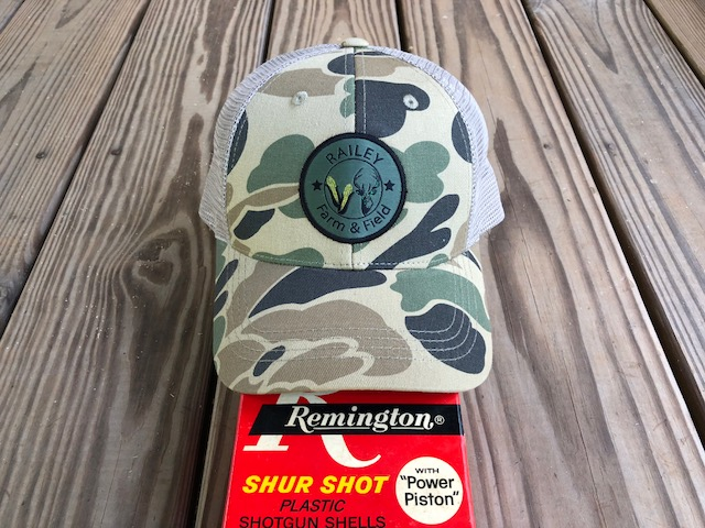 Railey Farm & Field Vintage Camo Cap